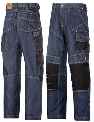7d87f3fe86e6c8 Snickers Workwear - Handwerker Denim Hose 3355 -- arbeitskleidung-shop.net
